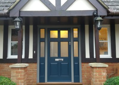New Front Door & Side Frames – Rickmansworth, Buckinghamshire