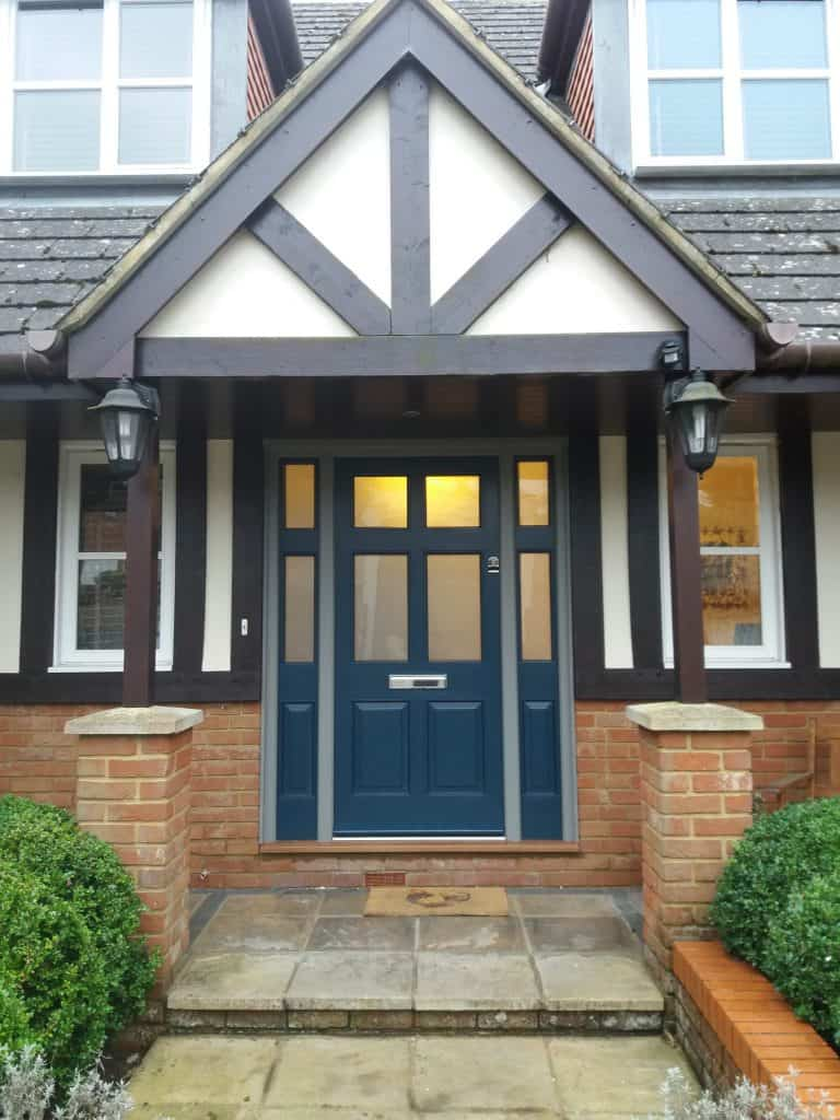 Front Door & Side Frames