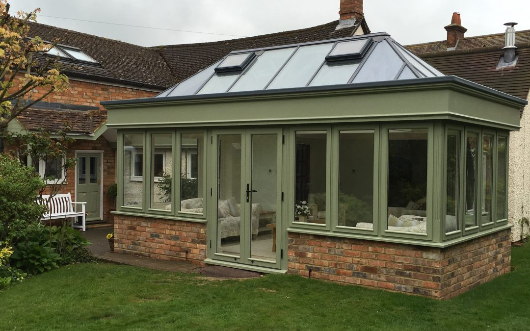 New Orangery and Porch – North Crawley, Buckinghamshire