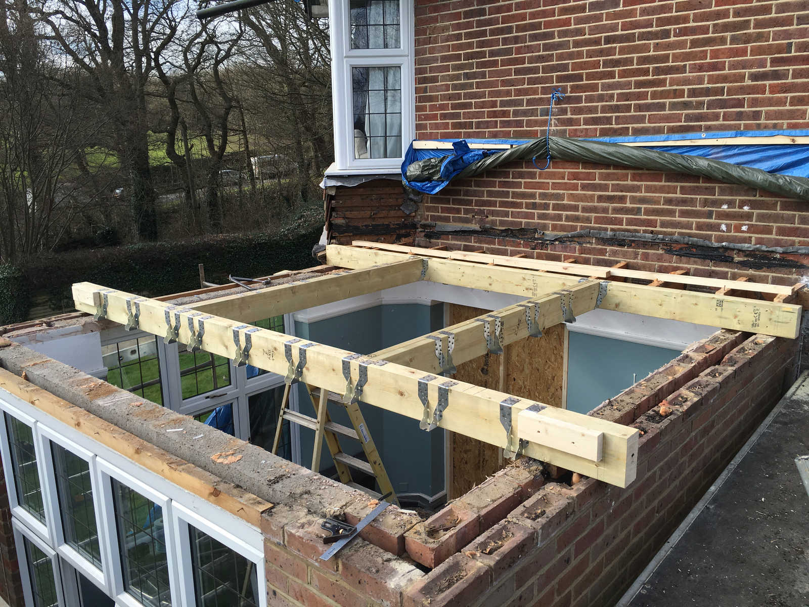 Flat Roof Conversion Everitt And Jones