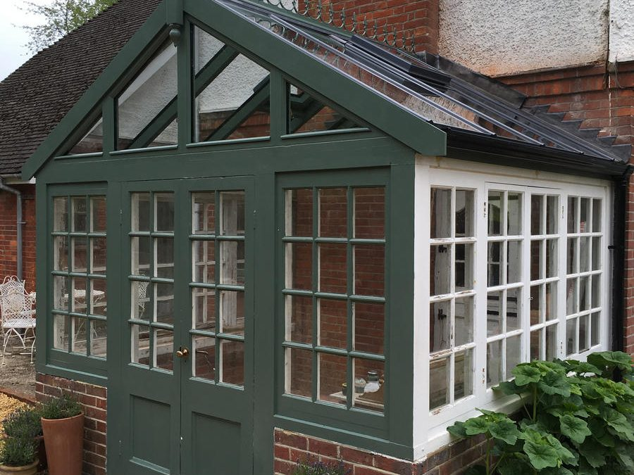 New Double Pitched Glass Conservatory Roof – Great Missenden, Buckinghamshire