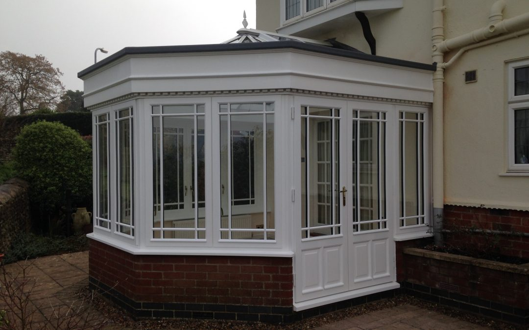 New orangery to replace old conservatory – Gayton, Northamptonshire
