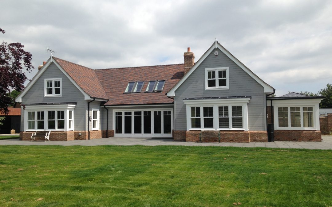 Box Sash Windows, Bi-fold Doors & Front Door – Hertfordshire