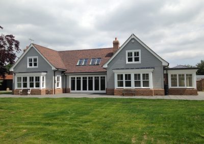 Box Sash Windows, Bi-fold Doors & Front Door – Hertfordshire