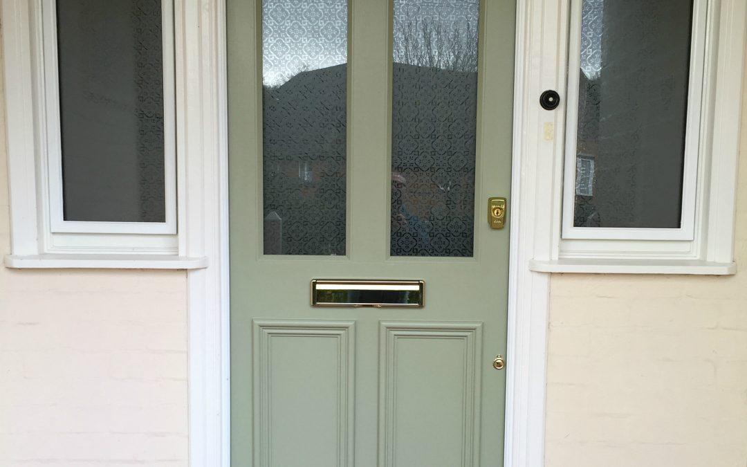 New Front Door & Side Lights