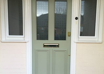 New Front Door & Side Lights