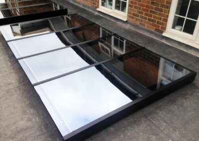 Flat Glazed Roof Lights – Radlett, Hertfordshire