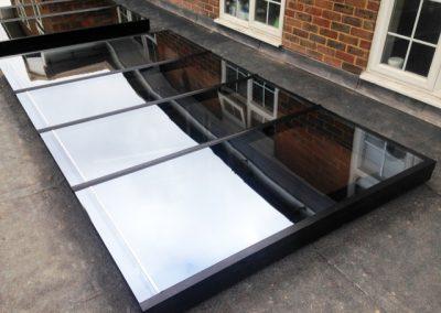 Flat Glazed Roof Lights – Radlett, Hertfordshire