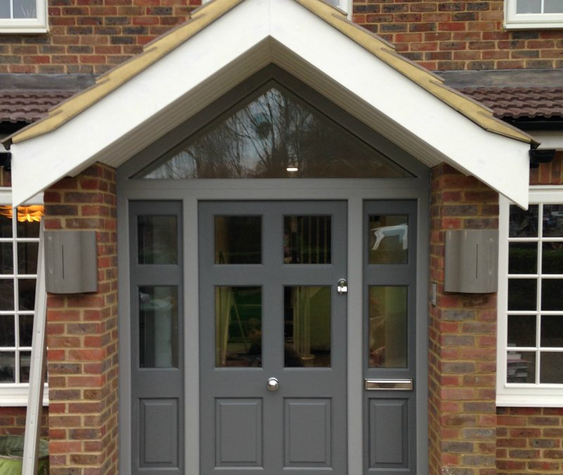 New Front Door – Radlett, Hertfordshire