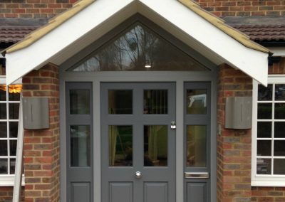 Bespoke Front Doors © Everitt & Jones