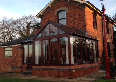 New Conservatory & Front Porch – Northampton