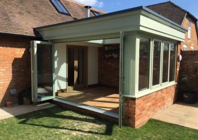 New Orangery on a Barn Conversion, Leighton Buzzard, Bedfordshire