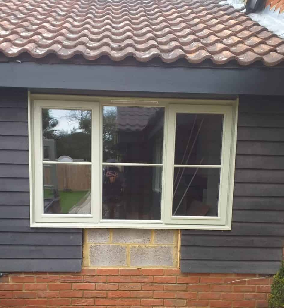 Replacement Hardwood Windows for a Barn Conversion