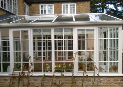Replacing a damaged conservatory roof unit