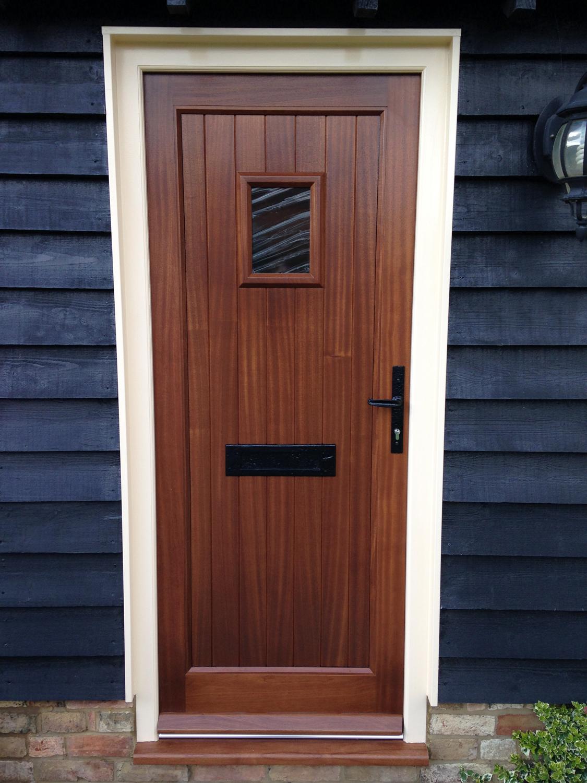 Barn conversion front door