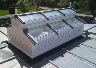 Hardwood Roof Lantern Installation