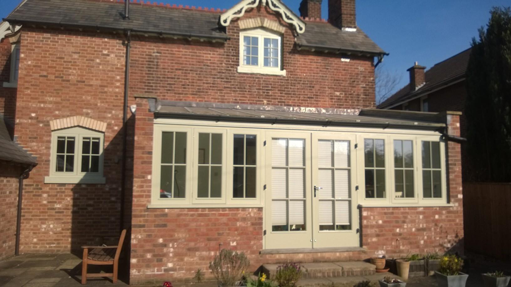 New windows & doors