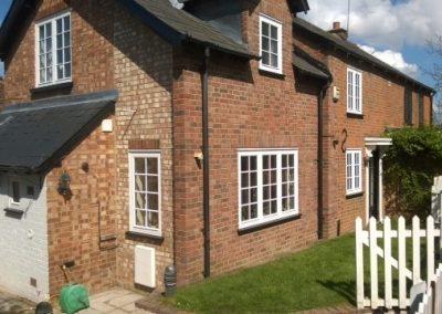 Flush sash windows in Hertfordshire