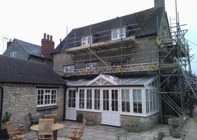 Refurbishment of Windows throughout Farmhouse