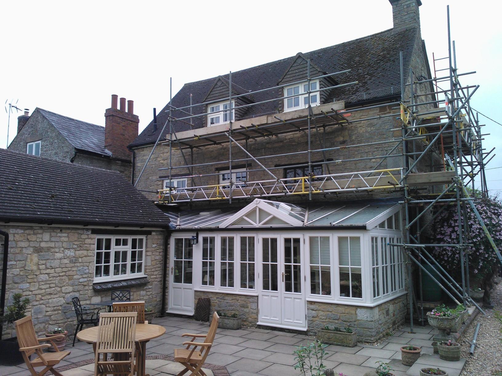 Refurbishment of Windows throughout Farmhouse